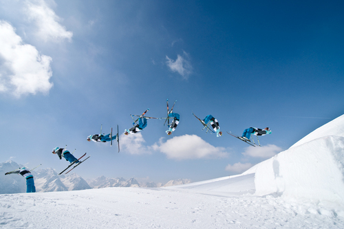 How To Do A Backflip On Skis
